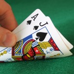blackjack hand
